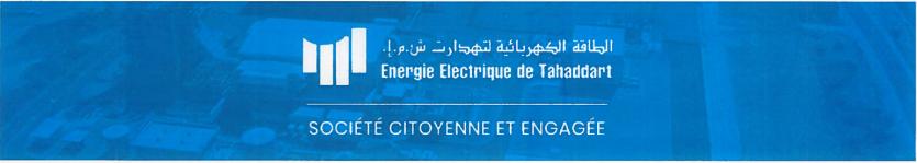 ENERGIE ELECTRIQUE DE TAHADDART